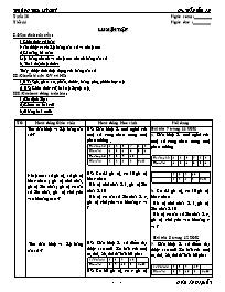 Giáo án Đại số 7 - Tiết 44: Luyện tập