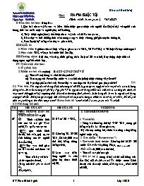 Giáo án Ngữ văn lớp 10 - Ra - Ma buộc tội