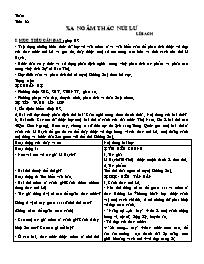 Giáo án Ngữ văn lớp 10 - Tiết 38: Xa ngắm thá
