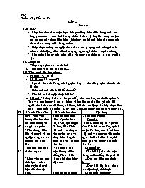 Giáo án Ngữ văn lớp 10 - Tiết 61 đến tiết 65