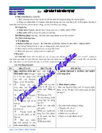 Giáo án Ngữ văn lớp 10 - Trường THPT Lấp Vò 3