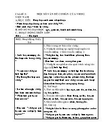 Giáo án tự chọn Ngữ văn lớp 10 - Chủ đề 1 đến